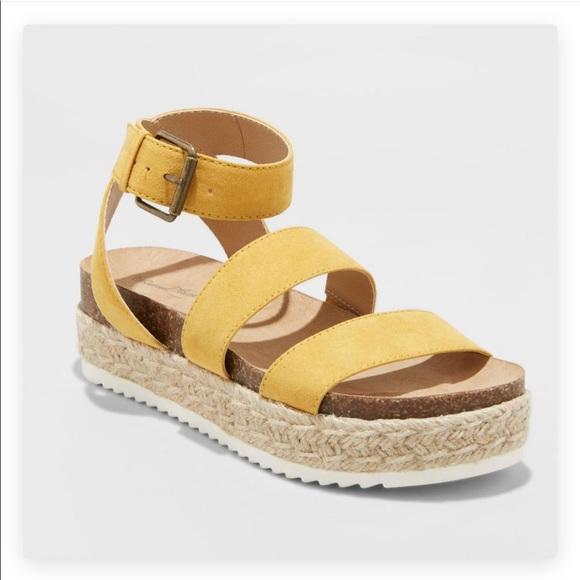 1d80f9f379c NWT Ankle strap platform Espadrilles sandals